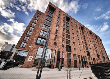 Thumbnail 2 bed flat to rent in Block B Wilburn Basin, Ordsall Lane, Salford