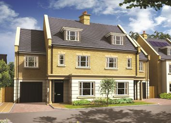 "Thumbnail 4 bed property for sale in ""The Beamish"" at The Avenue, Sunbury-On-Thames"