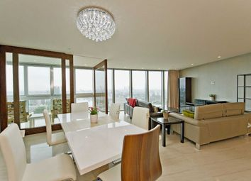 Thumbnail 3 bedroom flat for sale in The Tower, St George Wharf, Vauxhall, London