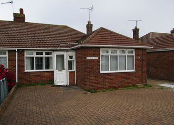 Thumbnail 2 bed semi-detached bungalow to rent in Dove Crescent, Dovercourt, Harwich