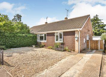Thumbnail 3 bed semi-detached bungalow for sale in Whitelands, Fakenham