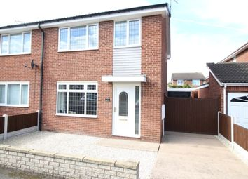 Thumbnail 3 bed semi-detached house for sale in Avon Way, Worksop