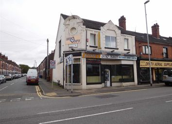 Thumbnail Retail premises for sale in Victoria Road, Stoke-On-Trent, Staffordshire