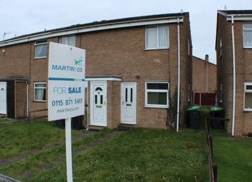 Thumbnail 2 bedroom flat for sale in Windsor Close, Hucknall, Nottingham