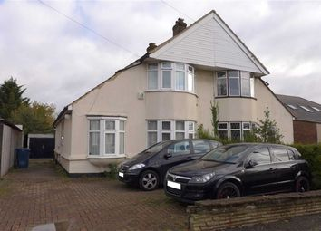 Thumbnail 3 bed semi-detached bungalow for sale in Borrowdale Avenue, Harrow Weald, Middlesex