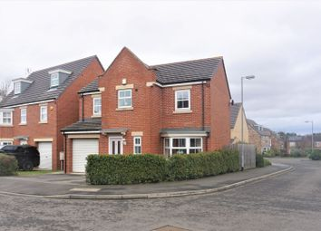 Thumbnail 4 bedroom detached house for sale in Beaumont Court, Morpeth