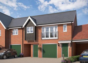 Thumbnail 2 bedroom flat for sale in The Osprey At Countryside At Chesterwell, Mile End, Colchester, Essex