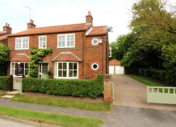 Thumbnail 5 bedroom detached house for sale in North Road, Lund, Nr Beverley