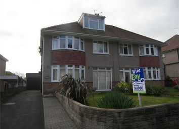 Thumbnail 4 bed semi-detached house to rent in Mayals Avenue, Mayals, Swansea