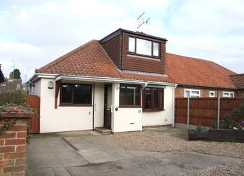 Thumbnail 3 bedroom semi-detached house for sale in Arnfield Lane, New Costessey, Norwich