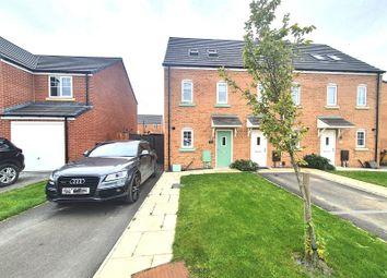 Thumbnail 3 bed semi-detached house for sale in Fairclough Park Drive, Leigh, Lancashire.