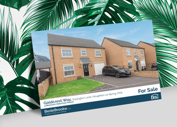 Thumbnail 4 bed detached house for sale in Goldcrest Way, Tyne And Wear