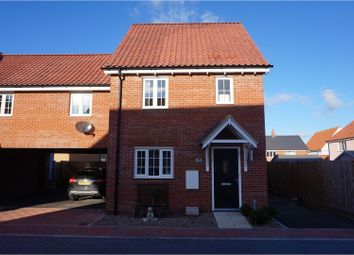 Thumbnail 4 bed link-detached house for sale in Nicholls Way, Clacton-On-Sea