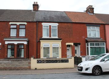 Thumbnail 3 bed terraced house to rent in Churchill Road, Great Yarmouth