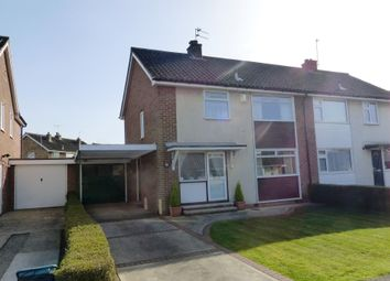 Thumbnail 3 bedroom semi-detached house for sale in Bramley Garth, York