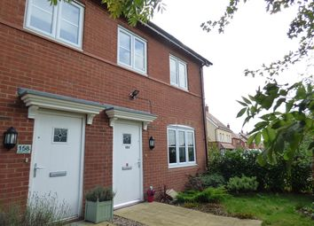 Thumbnail 2 bed terraced house for sale in Hilton Close, Kempston, Bedford