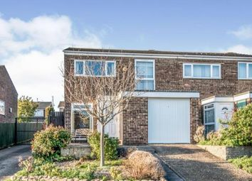 Thumbnail 3 bed semi-detached house for sale in Cotman Close, Bedford, Bedfordshire