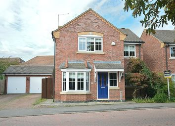 Thumbnail 4 bedroom detached house for sale in Volunteer Close, Wootton, Northampton