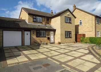 Thumbnail 4 bedroom link-detached house for sale in Beauvoir Place, Yaxley, Peterborough