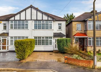 Thumbnail 3 bed semi-detached house for sale in Westfield Close, West Sutton, Surrey