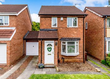 Thumbnail 3 bed detached house for sale in Cobalt Close, Lemington Rise, Newcastle Upon Tyne