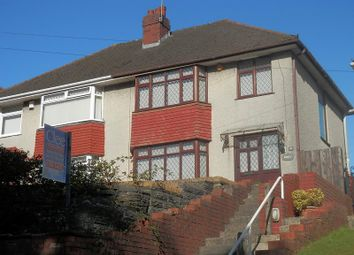 Thumbnail 3 bedroom semi-detached house for sale in Quarry Road, Treboeth, Swansea.