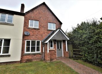Thumbnail 3 bed semi-detached house for sale in Lychgate Park, Copplestone, Crediton, Devon