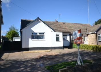 Thumbnail 2 bed semi-detached bungalow for sale in Allerton Road, Trentham, Stoke-On-Trent
