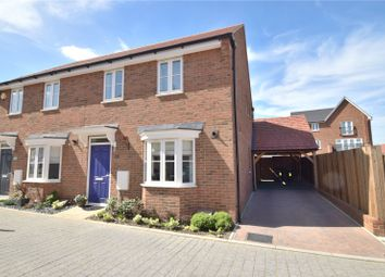 Thumbnail 3 bedroom semi-detached house for sale in Poulter Court, Weldon Road, Castle Hill, Swanscombe