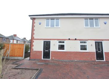 Thumbnail 3 bed semi-detached house for sale in Elwell Avenue, Barwell, Leicester