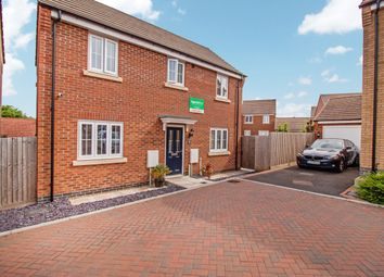 Thumbnail 3 bed detached house for sale in Kilbride Way, Orton Northgate, Peterborough