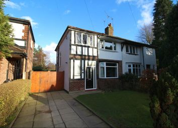 Thumbnail 3 bed semi-detached house for sale in Mornington Road, Cheadle