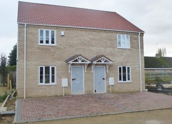 Thumbnail 3 bedroom semi-detached house for sale in Kirkgate Street, Wisbech