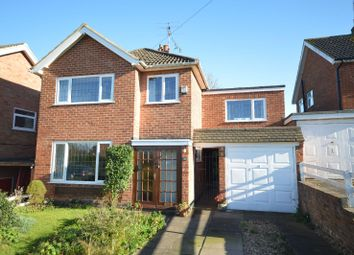 Thumbnail 4 bed detached house for sale in Canon Close, Oadby, Leicester