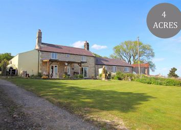Thumbnail 4 bed farmhouse for sale in Myndd Du, Nercwys, Flintshire