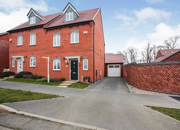 Thumbnail 3 bed semi-detached house for sale in Elborow Way, Cawston, Rugby