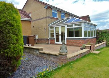 Thumbnail 3 bed semi-detached house for sale in Uplands Close, Crook