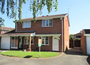 Thumbnail 2 bedroom semi-detached house for sale in Turnstone Drive, Featherstone, Wolverhampton