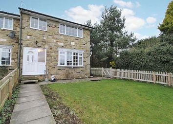 Thumbnail 3 bed end terrace house to rent in Grange Road, Dacre Banks, Harrogate
