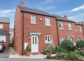 Thumbnail 3 bed end terrace house for sale in Station Road, Thrapston, Kettering