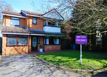 Thumbnail 4 bed detached house for sale in Nursery Drive, Stafford