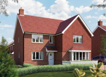 "Thumbnail 5 bed detached house for sale in ""The Arundel"" at Church Road, Bishopstoke, Eastleigh"