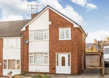 Thumbnail 3 bed semi-detached house to rent in Newbridge Street, Old Whittington, Chesterfield