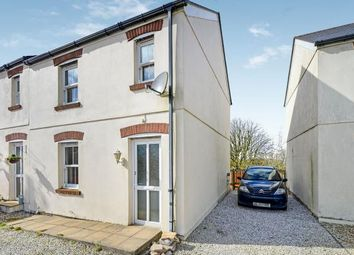Thumbnail 2 bed semi-detached house for sale in Higher Fraddon, St Columb, Cornwall