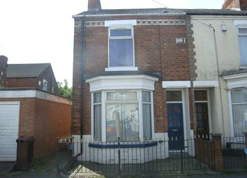 Thumbnail 3 bedroom end terrace house to rent in Wharncliffe Street, Hull