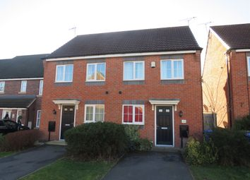 Thumbnail 2 bed semi-detached house for sale in Girton Way, Mickleover, Derby