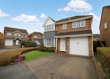 Thumbnail 4 bedroom detached house for sale in Greenwich Close, Abbey Meads, Swindon