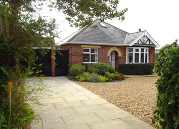 Thumbnail 2 bed detached bungalow for sale in Crabtree Lane, Sutton On Sea, Lincs.