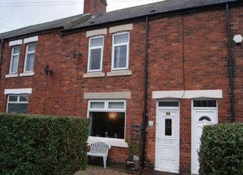 Thumbnail 2 bed terraced house to rent in Station Road, Camperdown, Newcastle Upon Tyne