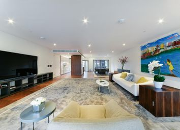 Thumbnail 3 bed flat to rent in Capital Building, Embassy Gardens, London